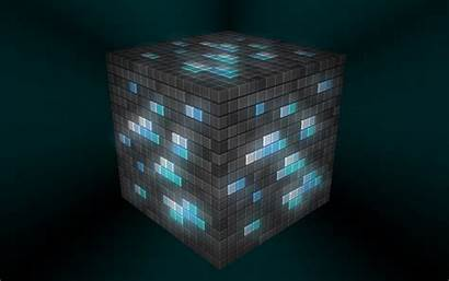 Minecraft Wallpapers Awesome Mincraft Ore Cool Diamond