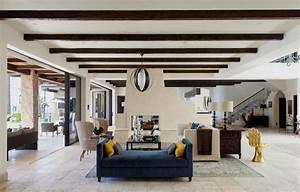 Deco Maison Avec Poutre : un ranch am ricain modernis californien l int rieur ~ Zukunftsfamilie.com Idées de Décoration