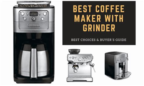 Coffee maker with grinder sboly coffee machine grind brew automatic single serve. Best Coffee Maker with Grinder: Buying Guide 2019