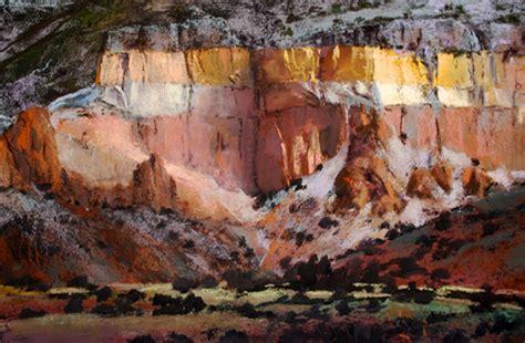 taos art school painting  rio grande paul murray