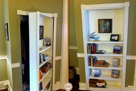 build   hidden door bookcase