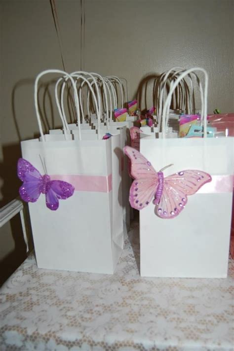 butterfly baby shower favors butterfly favors tea favors