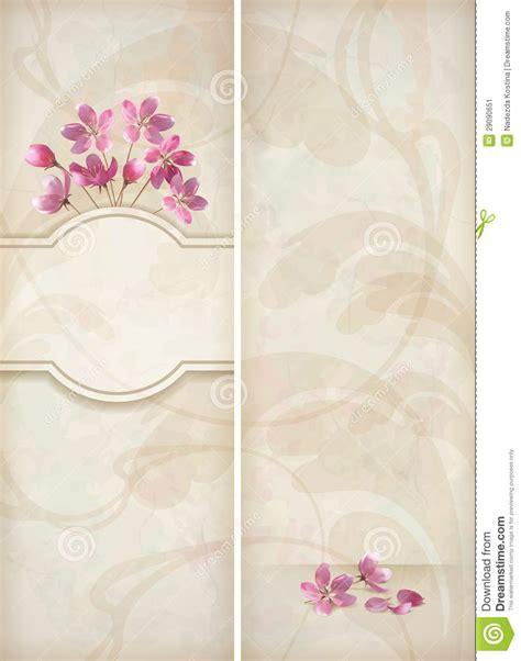 floral decorative wedding menu template design stock image image