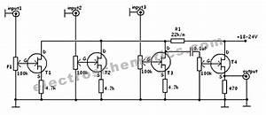 Fet Audio Mixer Circuit