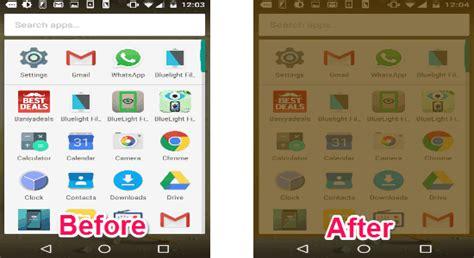 blue light filter app 5 best free bluelight filter apps for android