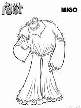 Smallfoot Coloring Migo Printable Compagnie Coloriage Yeti Movie Dessin Cartoon Kinderen Cinecity Imprimer Colorear Pie Pokemon Sheets Scribblefun Vlissingen Bioscoop sketch template