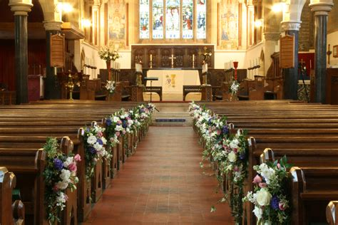 Church Wedding Flowers Sonning Flowers