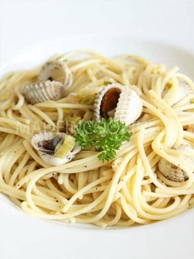 recette spaghettis aux coques