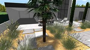 projet de jardin contemporain en vendee youtube With creer un jardin contemporain