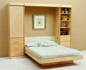 Doppelbett Im Schrank : klappbetten 5 praktische und platzsparende einrichtungsideen ~ Sanjose-hotels-ca.com Haus und Dekorationen