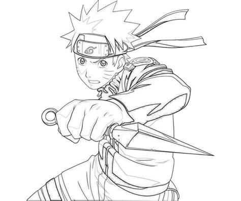Pages Naruto Coloring Coloring Pages