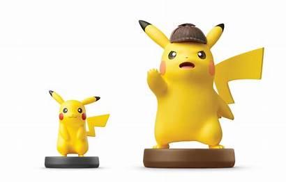 Pikachu Detective Amiibo Giant Nintendosoup
