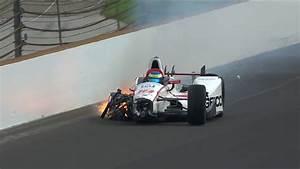 Accident Bourdais Indianapolis : s bastien bourdais miraculously survived 230 mph crash in indy500 qua ~ Maxctalentgroup.com Avis de Voitures