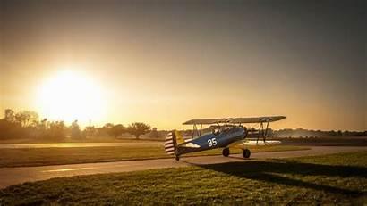 Airplane Stearman Boeing Wallpapers Aviation 4k Wide
