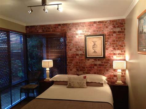 Contemporary Red Rugs by Rustic Brick Wallpaper In Bedroom Rustic Bedroom