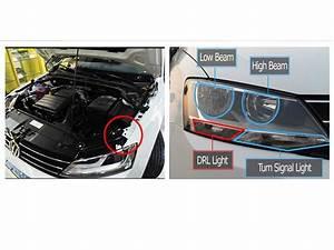Install Ijdmtoy Volkswagen Jetta Led Daytime Running Light
