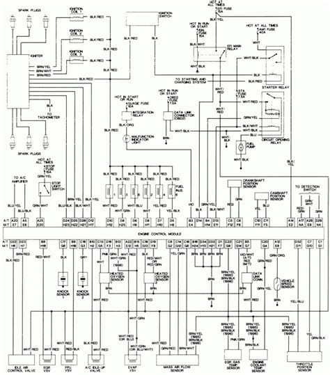 toyota wiring diagrams wiring diagram for electrical