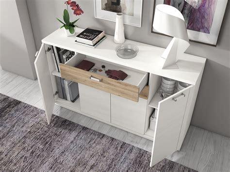 mueble salon comedor aparador madera melamina moderno