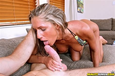 hot and lovely mandi moretti covered with mouthwas