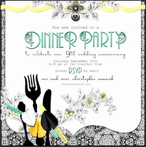 7 Free Dinner Invitation Card Templates SampleTemplatess