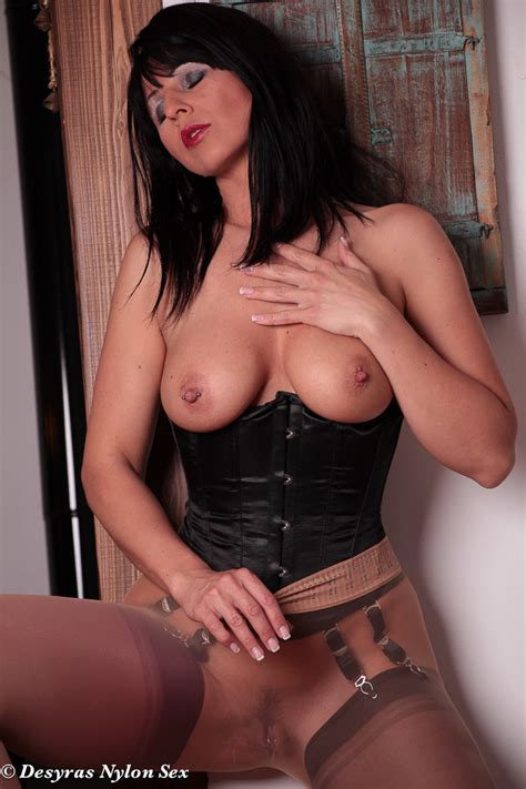 Desyra Noir Sexy German Milf In Stockings And Pantyhose Sex Clothing Seduction