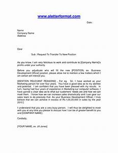 10 best images of employee relocation letter sample With internal transfer letter template