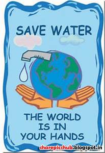 Save Water Slogan Posters | Save Water Quotes With Pics ...
