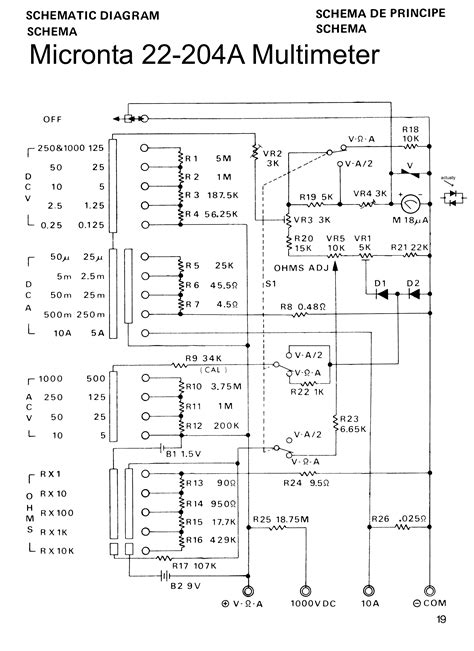 micronta 22 204a multimeter