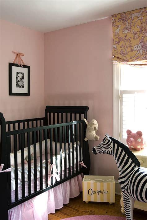 black nursery crib transitional nursery finnians