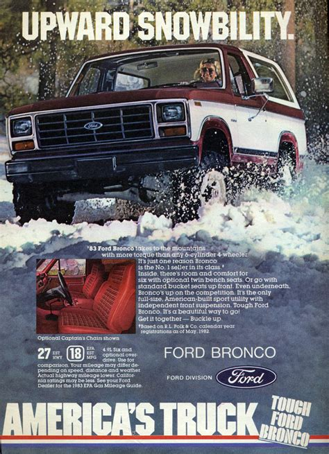 winter madness  classic car ads featuring snow
