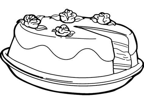 plats cuisines dessin gateau au chocolat