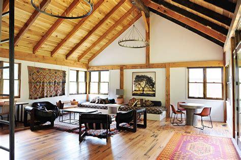 pole barn home interiors barn apartment loren wood builders