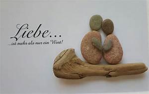 Bilder Mit Steinen Selber Machen : liebe ist bild aus kieselsteinen von tamikra auf tamikra kunst mit stein ~ Eleganceandgraceweddings.com Haus und Dekorationen
