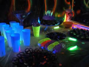 Glow in the Dark Birthday Party Ideas