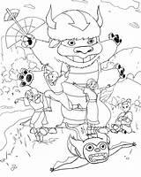 Ghibli Studio Coloring Avatar Air Bender Printable Para Imprimir Dibujos Getcolorings Logged Topic sketch template