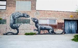 Roa in chicago unurth street art for Roa in chicago