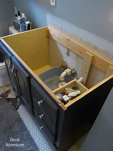 how to remove a countertop from a vanity bathroom With how to replace bathroom sink countertop