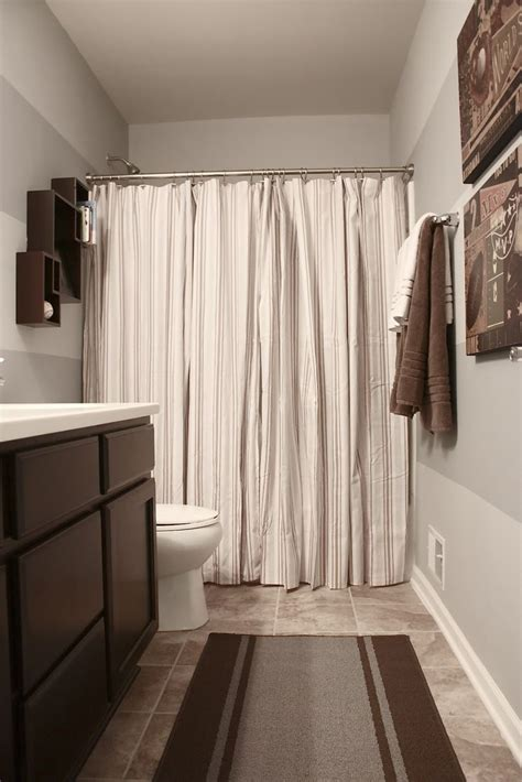 bathroom curtain ideas best 25 two shower curtains ideas on curtains
