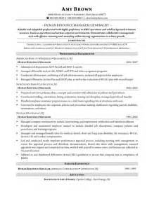 hr entry level skills for resume human resource generalist resume student resume template