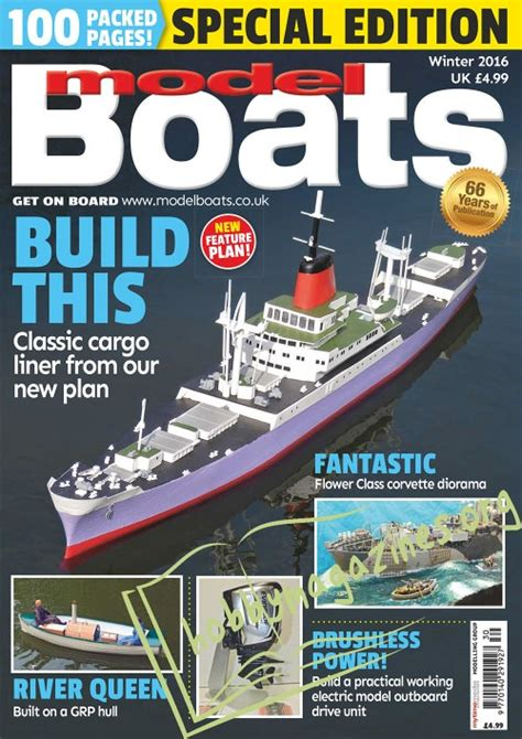 model boats winter  hobby magazines