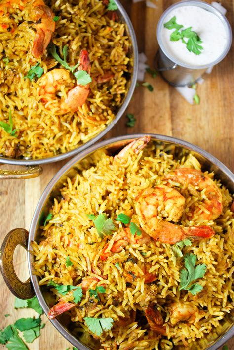 prawn biryani  rice cooker whitbits indian kitchen
