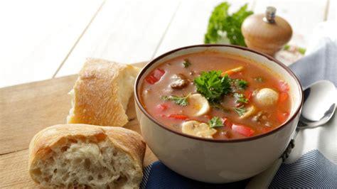 Vetarme soep