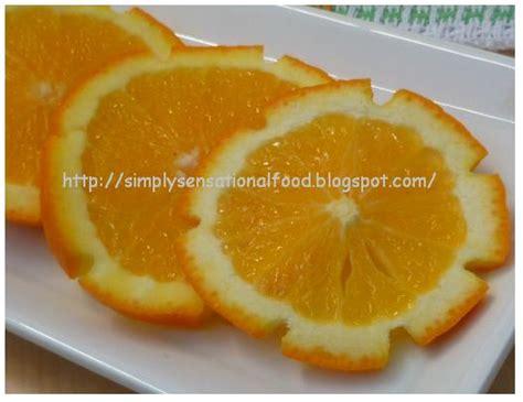 simple lemon  orange garnishes create  carve fruit