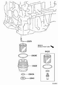 Toyota Venza Cap Assembly  Oil Filter  Engine  Cooler
