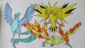 Pokémon Nicknames: Articuno, Zapdos and Moltres | Denny Sinnoh