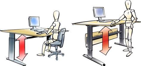bureau position debout pourquoi devriez vous songer à l achat d une table