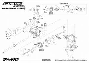 6708l Transmission Exploded View  Stampede 4x4 Vxl