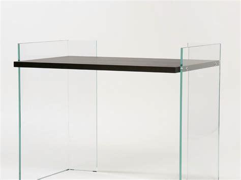 bureau en verre tremp bureau en verre trempé scribe 8 by adentro design