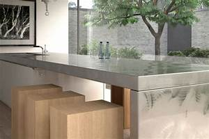Moderne arbeitsplatten in der kuche tipps und for Arbeitsplatte aus edelstahl