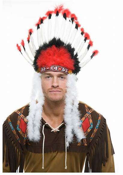 Headdress Indian American Native Indians Costume Costumes